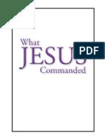 01What Jesus Commanded-Intro
