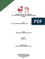 RESEÑA (COMPARACIÓN TECNICO-FINANCIERA DEL ACERO ESTRUCTURAL DEL ACERO Y EL HORMIGON ARMADO)