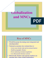 Globalzation1 Notes
