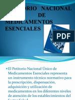 Petitorio Nacional Unico de Medicamentos Esenciales