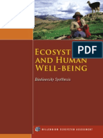 Ecosystems and Well Being P1-3
