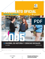 Ensayo PSU Historia DEMRE 2004