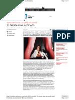 2013-04-27 El Debate Mas Incomodo