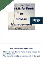 Little Book of Stress Management