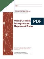 Using Coordinates to Interpret Data