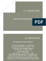 Le Memoire