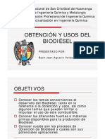 Presentacion-obtencion y Usos Del Biodiesel