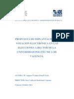 PROPUESTA DE IMPLANTACIÓN DE VOTACIÓN ELECTRÓNICA EN LAS ELECCIONES A RECTOR DE LA UNIVERSIDAD PO