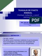 TRABAJO DE PARTO -  Dra. Ana Ma.Ricciardone.ppt