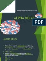 ALPHA DECAY.pptx