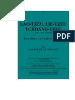 Les Peres LieTseu TchouangTseu