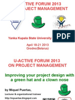 Improving your project design with a green hat and a clown nose
