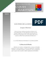 MARITAIN Fines dela Educación(1)
