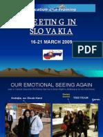Meeting in Slovakia