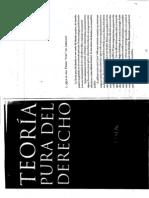 Hans Kelsen, Teoria Pura Derecho Cap. 1