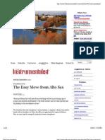 move from alto sax
