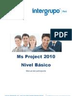 Manual de Project 2010 - Nivel Basico