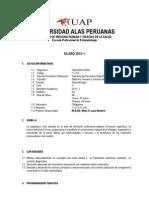 Silabo Operatoria Dental Semestre 2012-1