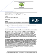 Evaluation of Chicago Preparatory Charter High School
