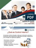 Control Interno - CPCC. Walter Noles Monteblanco