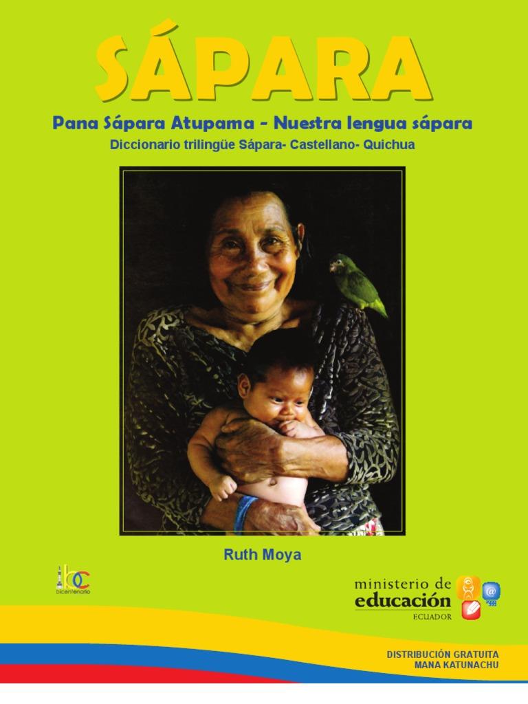 9d4c71fd6d Diccionario Sapara