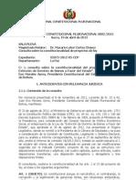 DECLARACIÓN CONSTITUCIONAL 2013 - PROYECTO DE LEY DE EXTINCIÓN DE DOMINIO