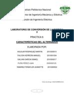 Conver II Practica Caracteristicas de Alternador