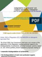 Presentation SK TAIEX Commission Reports