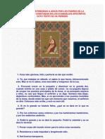 Sentencias Atribuidas A Jesús Por Los Padres De La Iglesia-Versión 1 (Anónimo)