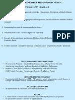 1. Concetti Di Base Ed Esempi Di Eziopatogenesi 2011-2012