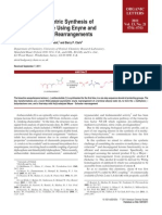 Catalytic Asymmetric Synthesis of (þ)-Anthecotulide Using Enyne and MeyerSchuster Rearrangements