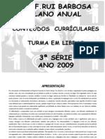 PLANO+2009+3ª+SÉRIE completo