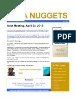 NUPA Nuggets April Edition