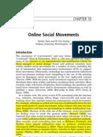 Hara & Huang, Online Social Movements.