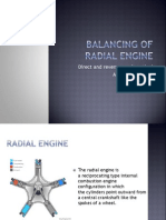 RADIAL ENGINE BALANCING