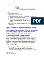 (eBook - English) - ToEFL - ToEFL Essay Writing Tips
