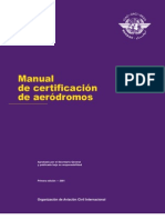 Manual Certificación Aeródromos