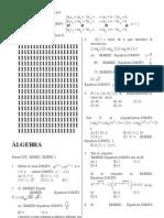 5º seminario de algebra PREUNIVERSITARIO-2007-II-Sara