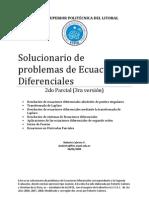 Solucionario de Ecuaciones Diferenciales