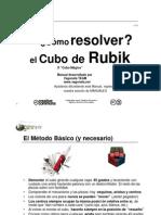 Manual Para Solucionar El Cubo de Rubik Www Vagoneta Net