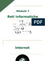 ECDL Modulo 7 - Reti informatiche