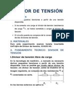 DIVISOR DE TENSIÓN