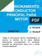 Clase 6 Dimensionamiento de Conductor Para Motor