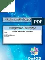 Cluster de Alta Disponibilidad