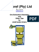 Ore Extraction Chemistry