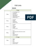 AutoCAD Course Contents