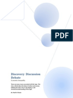 Discover Discussion Debate - Economic Inequality