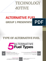 Ja501 Technology Automotive Present alternative fuel