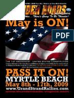 Thunder Roads Virginia Magazine - April '09