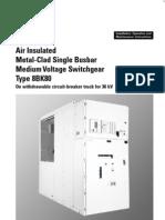 26470430 Siemens OMM 33 kV HT Panel
